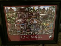 Pubs of Carbondale framed picture, Southern Illinois University in Lockport, Illinois