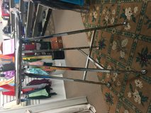 Folding round clothing racks $40 each in Fort Bragg, North Carolina