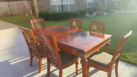 Solid Cherry Dining Table and 8 Chairs in Eglin AFB, Florida