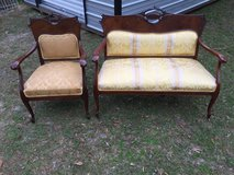 Antique Settee and chair in Moody AFB, Georgia