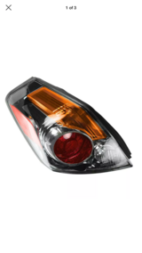 Taillight for a Nissan Altima in Yorkville, Illinois