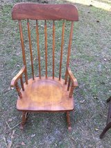 Antique rocking chair in Moody AFB, Georgia