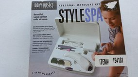 CLEARANCE Homedics Body Basics Personal Manicure Kit Style Spa Model # MAN-100 NIB in Sandwich, Illinois