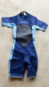 Jobe Wet Youth Wet Suit 7-8 BLUE (used) CA 02952 RN 0103840 in Sugar Grove, Illinois
