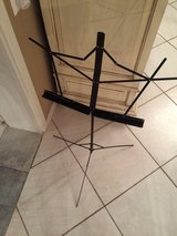 Black music Stand in Ramstein, Germany