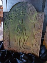 rare fire place back wall plate in Ramstein, Germany
