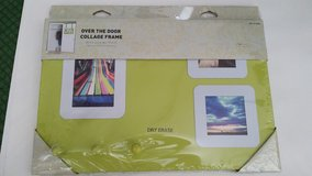 Dorm Wall or Over The Door Collage Frame/Dry Erase/3 Peg Board New in Package (2 Available) in Yorkville, Illinois
