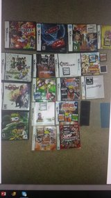 18 NINTENDO DS GAMES + CASES in Wilmington, North Carolina