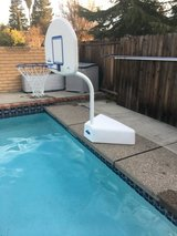 Pool basketball net in Fairfield, California