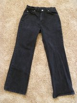 Ladies Levi's Black Denim Jeans 917 Boot Cut. Junior Size 11 S. in Palatine, Illinois