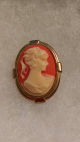 Vintage Cameo pin in Perry, Georgia