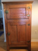 antique oak icebox in Bolling AFB, DC