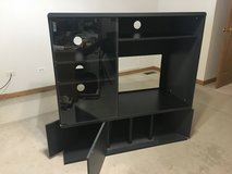 Sauder TV Stand - Dark Grey in Oswego, Illinois