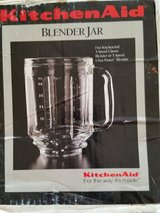KitchenAid Replacement Blender Jar (Fits 3 Speed Classic or 5 Speed Ultra Power) in Oswego, Illinois