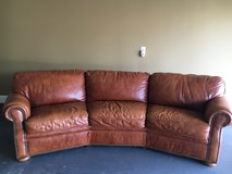 PRICE REDUCED!! Italian Leather couch in Warner Robins, Georgia