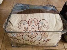 King Size Bed Comforter Set in a Bag 5 Pieces in Fort Polk, Louisiana