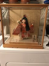 Japanese Doll in Glass Case in Okinawa, Japan