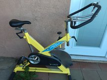 Spin bike in Yucca Valley, California