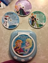 Frozen CD player and 2 puzzles in Vacaville, California
