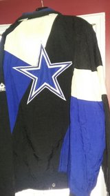 Cowboys jacket in Fort Campbell, Kentucky