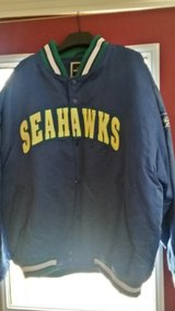 Seahawks jacket in Fort Campbell, Kentucky