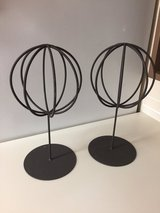 Wrought Iron Orb stands in Okinawa, Japan