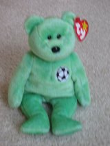 Soccer Beanie Baby in Bartlett, Illinois