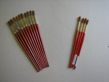 Winsor & Newton watercolour brushes sizes 7 and 8 in Lakenheath, UK