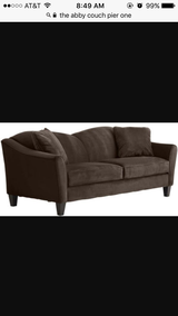 Abby couch from pier one in Lawton, Oklahoma