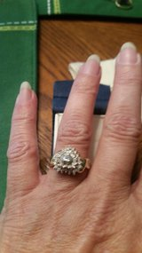 Heart diamond ring in Conroe, Texas