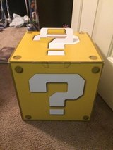 Large Super Mario Bros Question Mark Box From Comic Con in 29 Palms, California