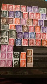 Stamps Collection in Ramstein, Germany