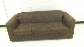 Brown Pattern Fabric Couch in Warner Robins, Georgia