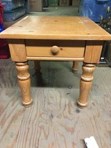 Broyhill solid wood end table in Morris, Illinois