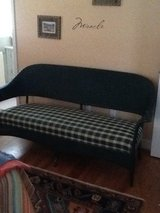 Sofa, rocking chair and small end table..old, excellent condition in Beaufort, South Carolina