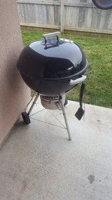 charcoal Weber Grill with Accessories in Travis AFB, California