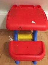 Children plastic desk toy in Ramstein, Germany