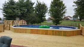 walls lawncare and more. Swimming pool deck in Fort Campbell, Kentucky
