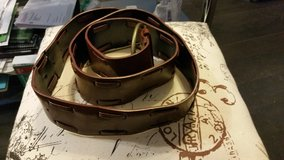 Brown leather belt in Lakenheath, UK