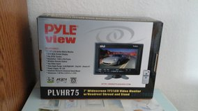 Pyle View 7' Widescreen TFT/LCD Video Monitor in Ramstein, Germany