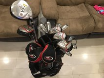 10 Piece XL Top Flite Clubs with Self Stand Bag in Okinawa, Japan