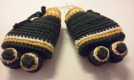 crochet roller skate yellow green in Bartlett, Illinois