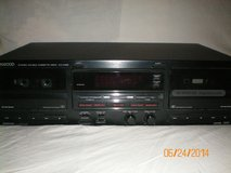 Kenwood KX-W891 Home Stereo Double Cassette Player in Sacramento, California