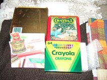 1992 CRAYOLA TRADE MARK COLLECTOR'S CHRISTMAS TIN BOX in Sacramento, California