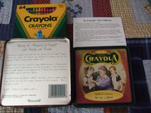 CRAYOLA CHILD MEMORIES TIN COLLECTOR BOX in Sacramento, California