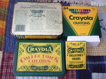 CRAYOLA COLLECTOR'S COLORS LIMITED EDITION TIN BOX in Sacramento, California
