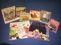 Fairytale stories on DVD, fairy tale lot and 2 book Jamie Lee Curtis story lot in Stuttgart, GE
