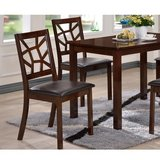 2 Baxton Studio PCH6339-DC Cappuccino Dining Chairs - not table in Naperville, Illinois