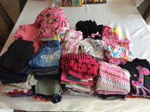Lot of 12 month girl clothes (long sleeve, some short sleeve, pants, shorts, pjs, 2 jackets, 2 d... in Ruidoso, New Mexico