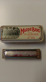 Vintage harmonica w/case in Perry, Georgia